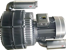 Three stage side channel blower