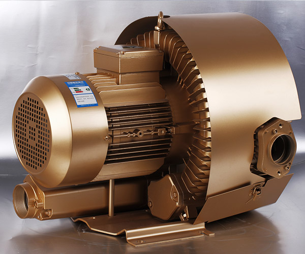 Three Phase Double Stage Side Channel Blower