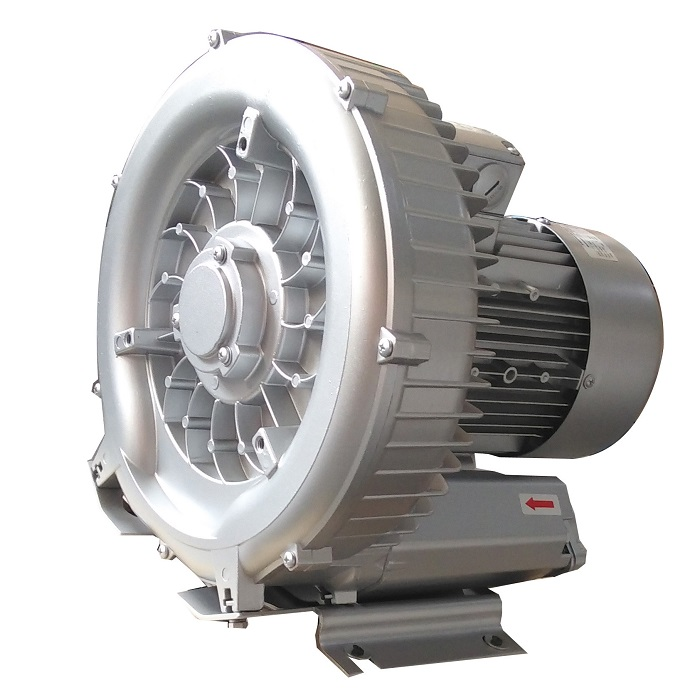 7HP High Pressure Double Stage Side Channel Blower for Garment Machine