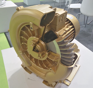 Regenerative Single Stage Side Channel Blower for slaughtering equipment