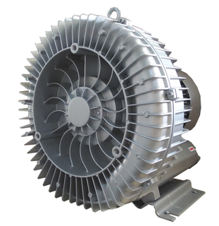 Big suction side channel blower for dental